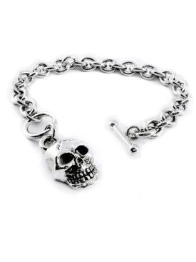 BR2921-Skull-CharmToggle-Bracelet