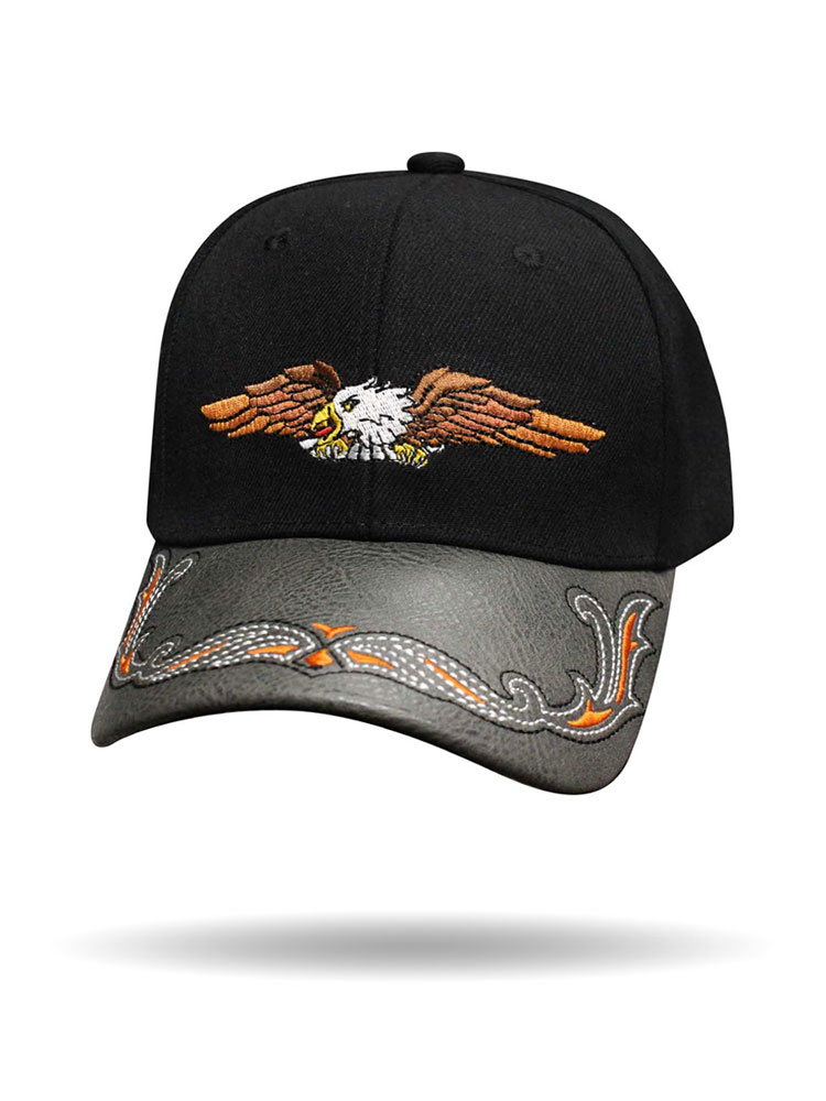 Eagle in Flight Ball Cap