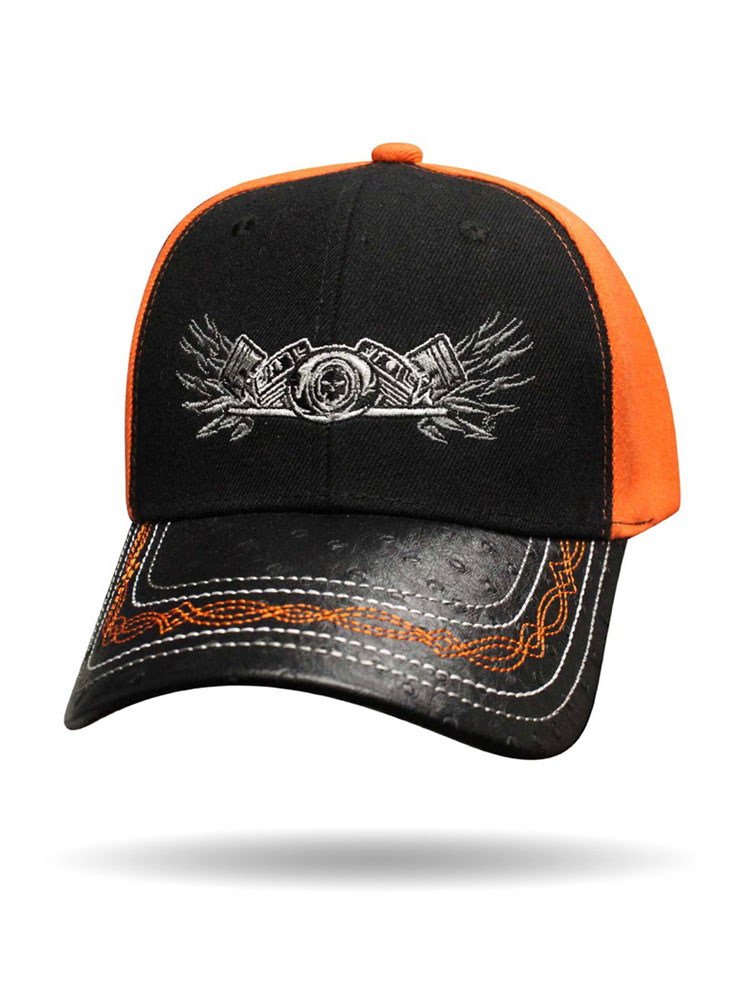 Winged Twin Engine Ball Cap