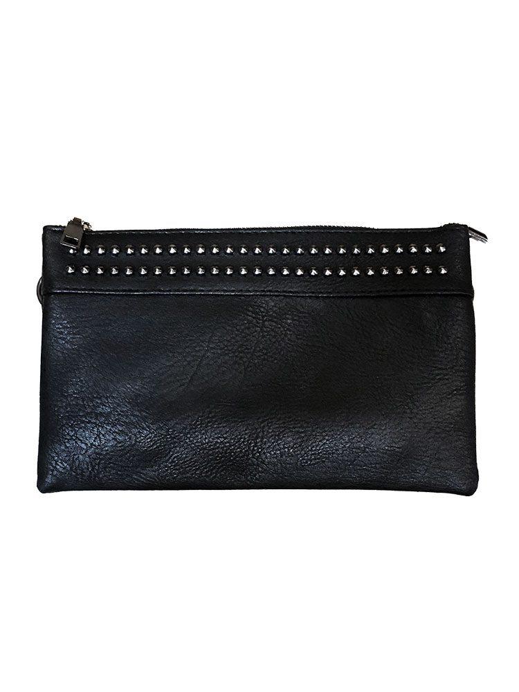 Minimalist Studded Handbag