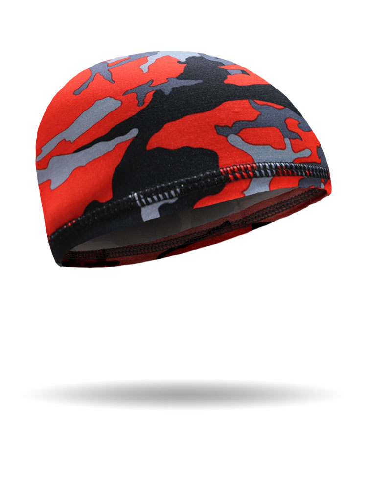 Red Camo UnderWrap™ Skull Cap